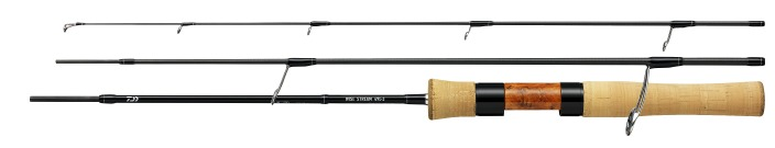 Daiwa Wise Stream 3-piece rod.