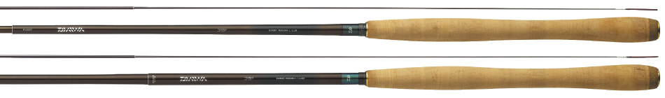 Daiwa Expert Tenkara L LL36 (top) and L LL45M (bottom).