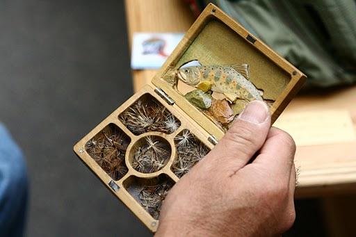 Dr. Ishigaki's fly box.