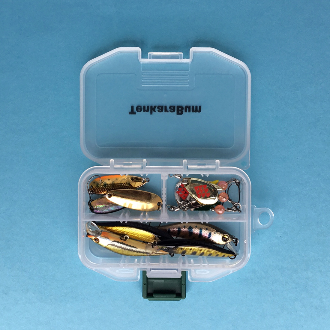 Meiho Fly Case SS with lures
