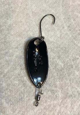 Micro Snap Swivel on a Shimano Spoon
