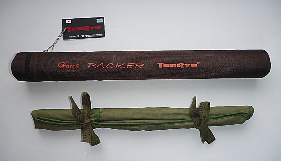 Tenryu Fates Packer hard case and cloth rod sock