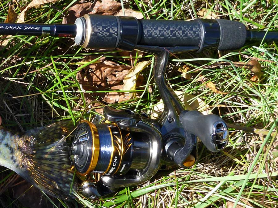 Tenryu Lunakia LK6102S-MLT grip showing the Nishijin weave.