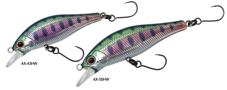 Palms minnow lures showing backward pointing front hooks