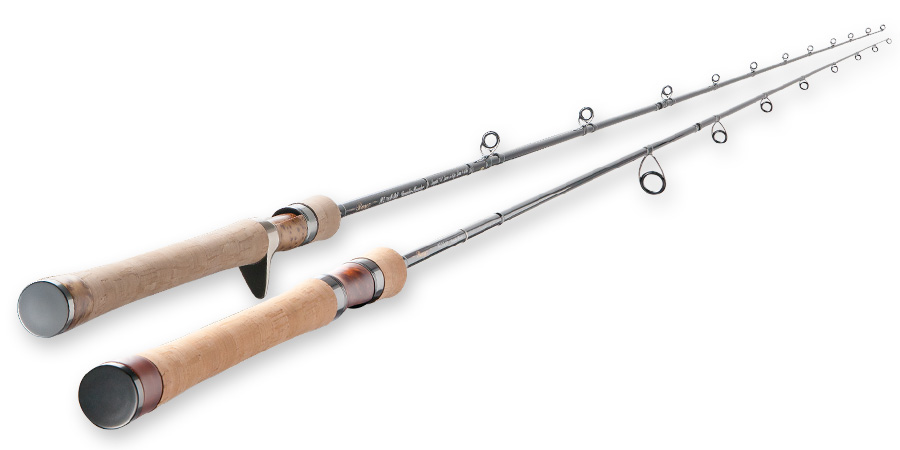 Tenryu Rayz bait and spin rods.
