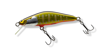 Color: PKO The lure has two barbless single hooks, not the trebles shown in the photo.