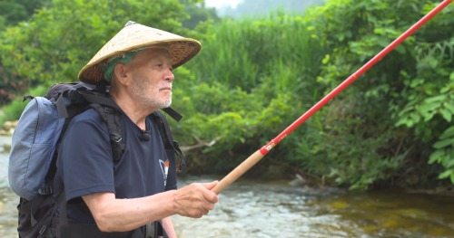Yuzo Sebata fishing his Tenryu TF39TA.